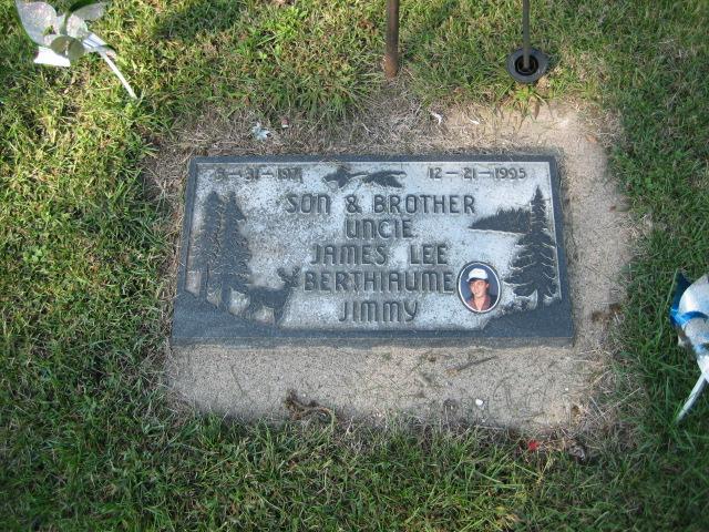 Berthiaume, James, Individual Memorial
