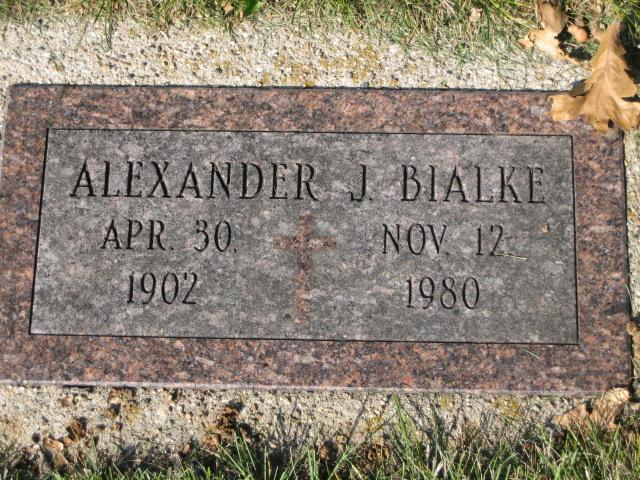 Bialke, Alexander J., Individual Memorial
