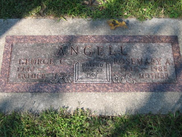 Angell, Rosemary A., Companion Memorial