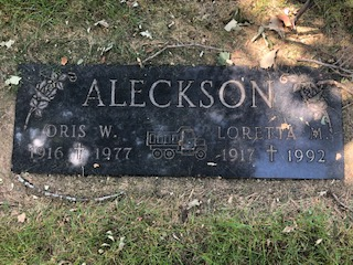 Aleckson, Orlis, Companion Memorial
